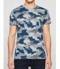 Koton Kamuflaj Desenli T-Shirt 8YAM14426OK33A
