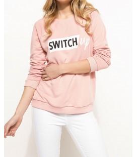 DeFacto Kadın Baskılı Sweatshirt I6286AZ BR345