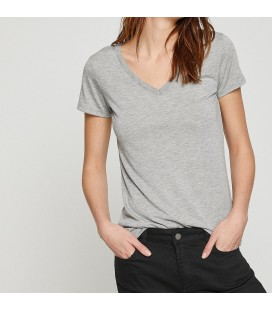 Koton Bayan V Yaka T-Shirt 8YAK13640OK029