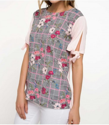 DeFacto Kadın Baskılı T-shirt I7288AZ PN130