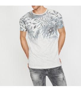 Koton Erkek Desenli T-Shirt 8YAM14428OK023