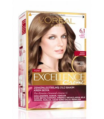 L'Oreal Paris Koyu Kumral Küllü Saç Boyası - Excellence Creme