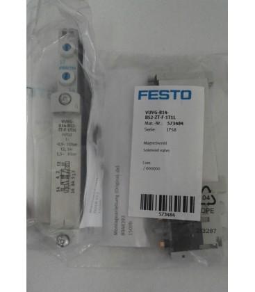 Festo 573484 Model VUVG-B14-B52-ZT-F-1T1L Solenoid Valve
