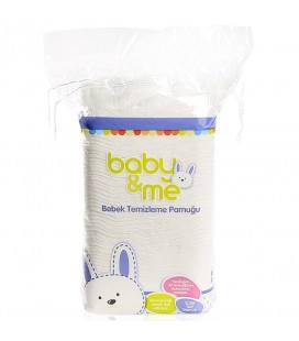 baby&me Bebek Temizleme Pamuğu 60 adet