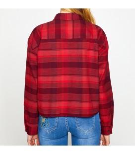 Koton Kadın Kareli Gömlek 8KAL61460OW40T