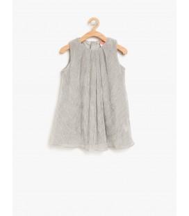 Koton Kız Çocuk Kolsuz Elbise 8YMG87044AK023