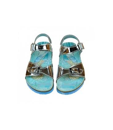 Hakan Gigi Kız Çocuk Frozen Detaylı Sandalet