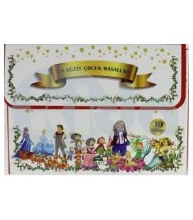 En Güzel Çocuk Masalları (10 Kitap Takım) Martı Yayınları