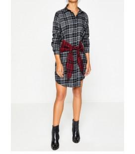 Koton Kurdela Detaylı Gömlek Elbise 8KAK83257QW01O
