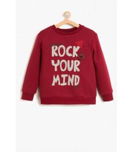 Koton Çocuk Baskılı Sweatshirt 8KKB16148TK477
