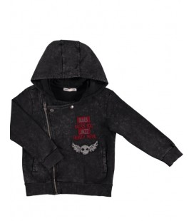 Koton Çocuk Aplike Detaylı Sweatshirt 8KKB16928TK999