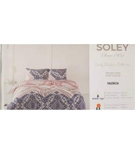 Soley Daily Ranforce Colecton Çift Kişilik Nevresim Takımı Valencıa