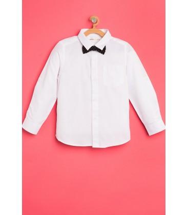 Koton Çocuk Papyon Detaylı Gömlek 8KKB66050TW000