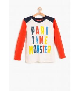 Koton Erkek Yazılı Baskılı T-Shirt 8KKB16751OK001