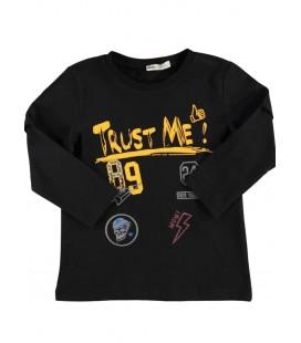 Koton Çocuk Yazılı Baskılı T-Shirt 8KKB16966TK999