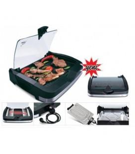 Gazzella Barbecue BRB-3000 2400watt Cam Kapaklı