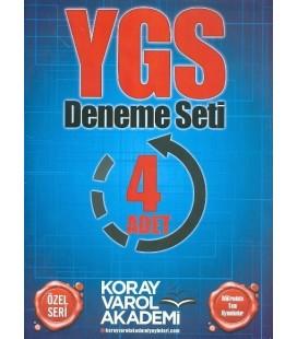 YGS Deneme Seti 4 Adet
