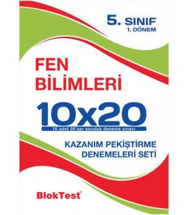 5. Sınıf Fen Bilimleri Denemeleri Seti - Bloktest Yayınları