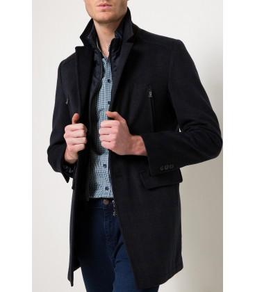 Pierre Cardin Erkek Slim Fit Lacivert Palto G021SZ005.000.558668