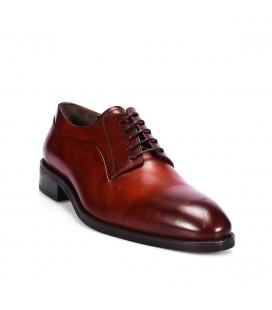 İnci Hakiki Deri Kahverengi Oxford Erkek Ayakkabı 6352