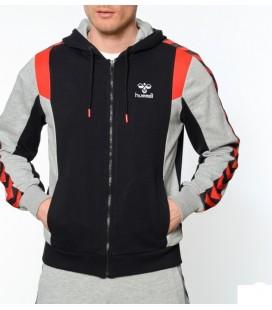 Hummel Fermuarlı Kapüşonlu Sweatshirt T37266-2001