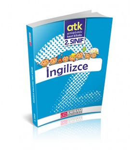 2. SINIF İNGİLİZCE ANLATIMLI TEST KİTABI Kavram Yayınları