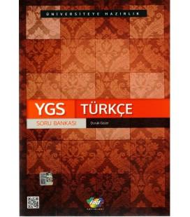 YGS Türkçe Soru Bankası FDD Yayınları