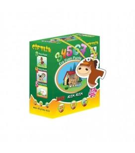 Diytoy Çiftlik 5'İ Bir Kutuda Puzzle