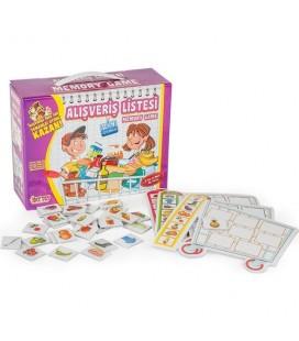 Diytoy Alışveriş Listesi Çocuk Yapboz Puzzle
