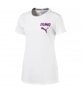 Puma W Athletic Tee Kadın Tişört 590752 02
