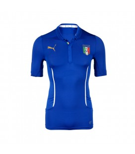Puma Figc İtalia Home Shirt Act Erkek Forma Tişört 74428701