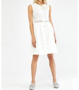 Ipekyol Dantel İşlemeli Kolsuz Elbise IW6170002091