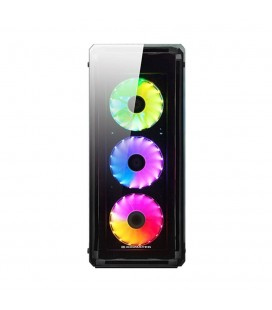 ASTRO 650W 80PLUS POWER 4 ADET RGB LED FANLI USB3.0 TEMPER CAMLI KASA