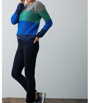 U.S. Polo Assn. Kadın Lacivert Dokuma Spor Pantolon G082GL078.CECA.506438.VR059