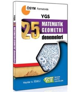 YGS 25 Matematik Geometri Denemeleri Seçkin Eğitim Teknikleri