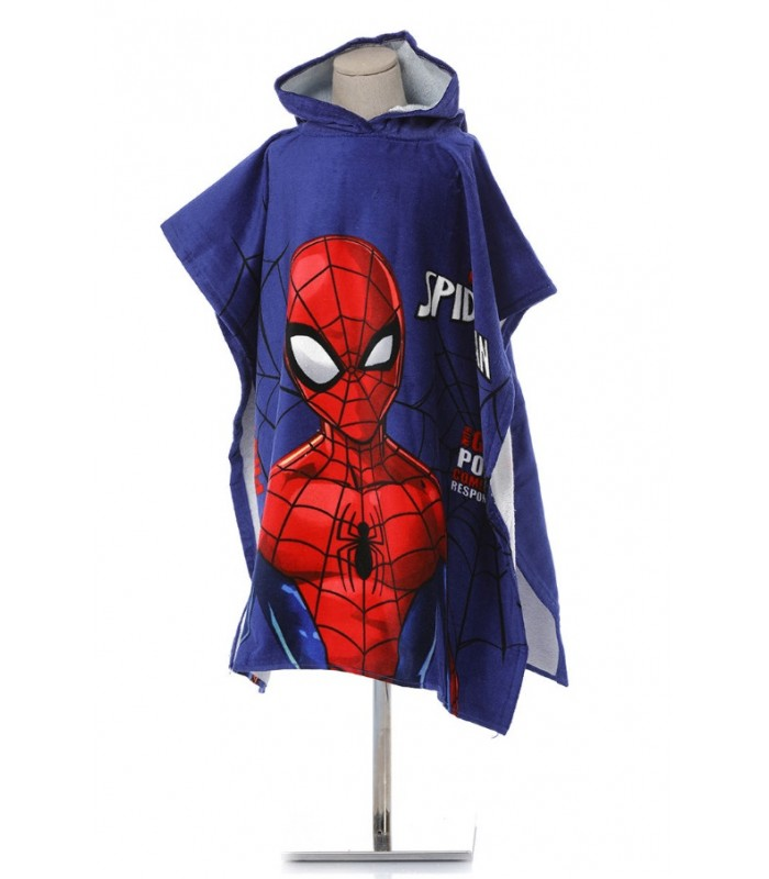 Ozdilek 4 9 Yas Lisans Baskili Kadife Panco Spiderman Power Mavi