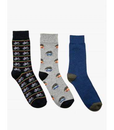 Koton 3'lü Erkek Çorap 9KAM82116AA040