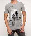 DeFacto Erkek Baskılı T-shirt I1579AZ