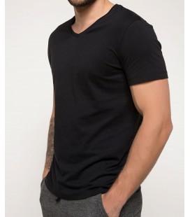 DeFacto Erkek V Yaka T-Shirt I3478AZ