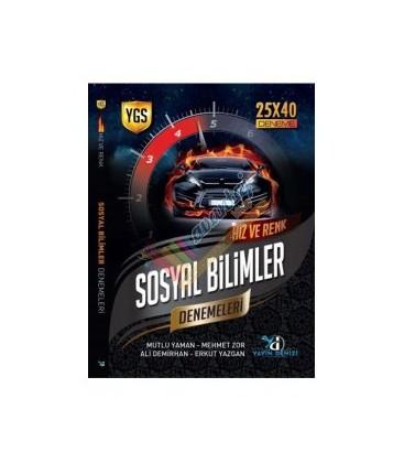 YGS SOSYAL BİLİMLERİ HIZ VE RENK DENEMELERİ 25X40