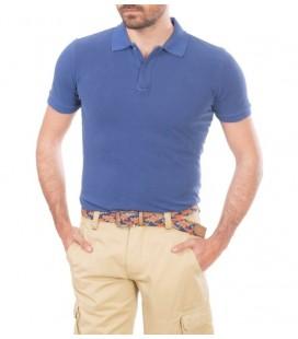 Karaca Toss Polo Yaka Erkek Tişört Saks Mavisi 516206001