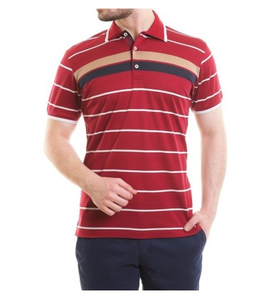 Karaca Erkek Regular Fit Pike T-Shirt - Bordo 115206031
