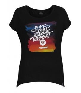 Hummel Kadın Baskılı Tişört  T08092-200