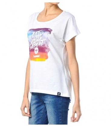 Hummel Baskılı Kadın  Tişört T08092-9001