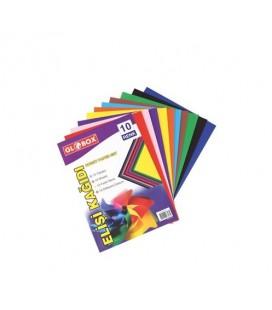 Globox  10 Renk Elişi Kağıdı A4 6803