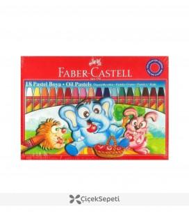 Faber Castell Pastel Boya 18 Renk Karton Kutu
