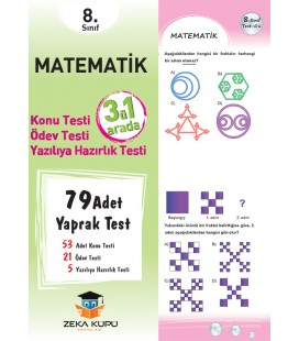 Matematik 8. Sınıf Yaprak Test