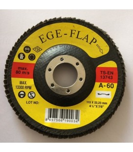 Ege Flap Zımpara 80 m Z-60 13300 RPM
