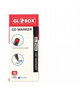 Globox CD Marker Siyah Kalem M 1005 10 Adet