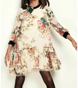 Lia Lea Kız Çocuk Çiçekli Elbise 18FWLLDS582